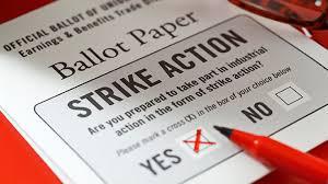 strike ballot