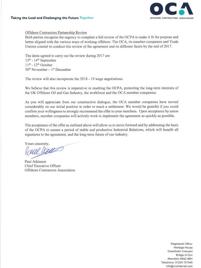 OCA Offer 2