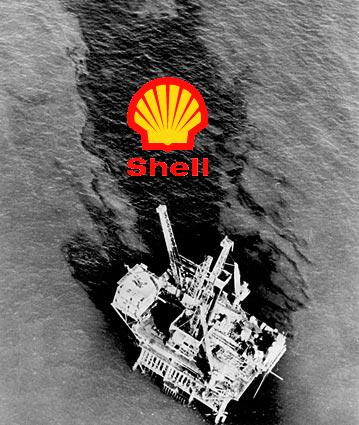 Shell Oil Spill in the North Sea